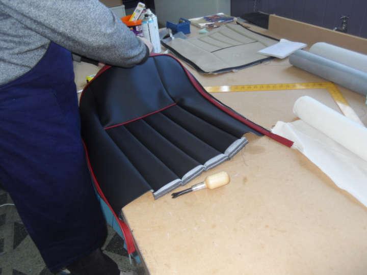 Vehicle Upholstery Training Course